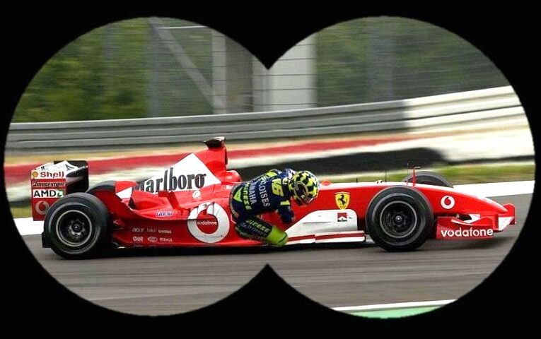 Spy Photo: Rossi in secret Ferrari test
