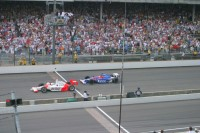 Hornish smokes Andretti at Indy in 2006 in the final 200 yards