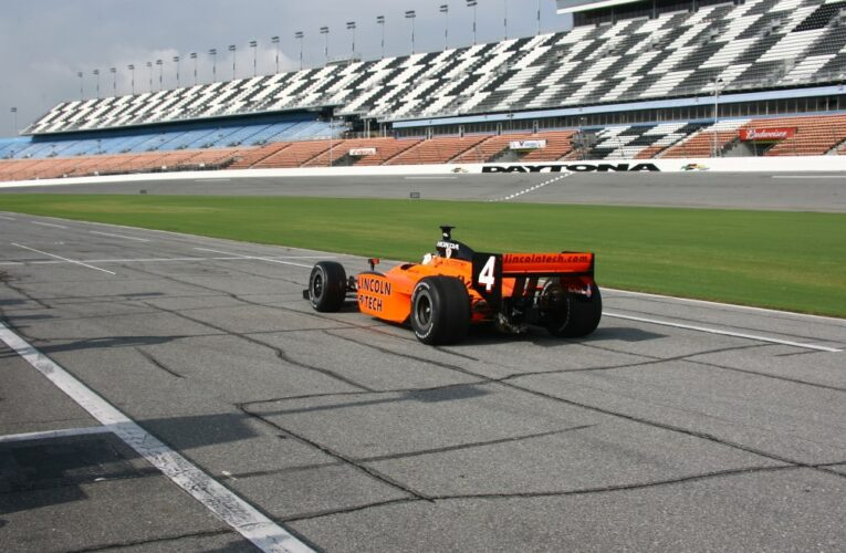 Indy Car's first day of Daytona testing