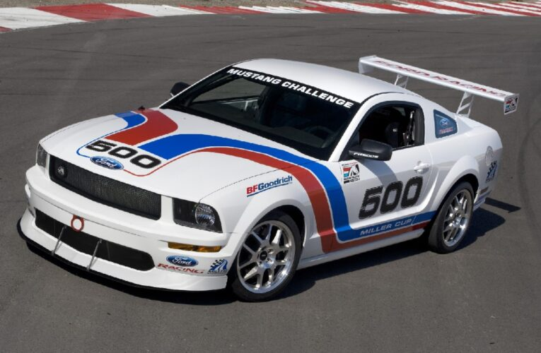 Production built all-new Mustang FR500S ready to race