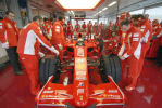 Shakedown of the F2007 at Fiorano for the Scuderia