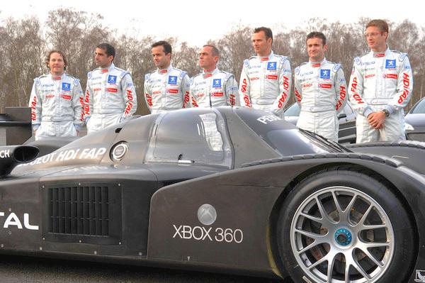 Villeneuve and Bourdais headline Peugeot LeMans effort