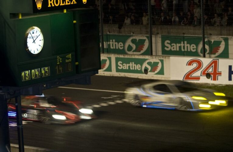 A journey through the night at LeMans