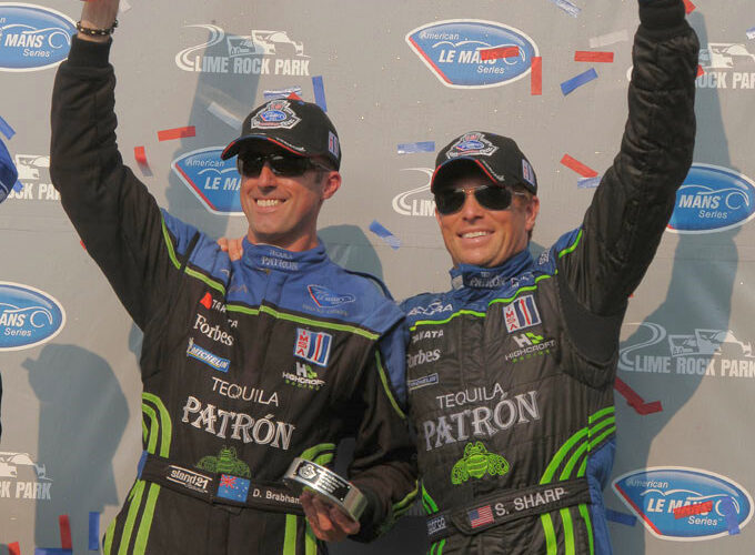 Brabham and Sharp win at Lime Rock