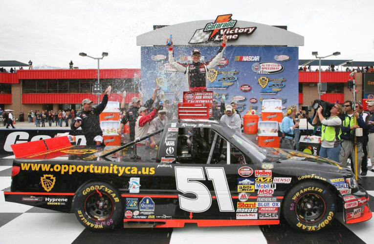 Busch Edges Bodine For 7th NCTS Victory