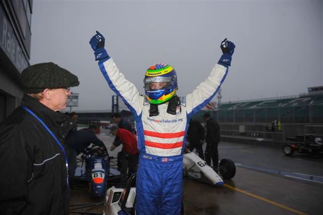 American Conor Daly Wins Walter Hayes Trophy