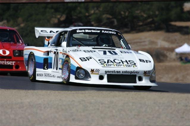 Historic IMSA Cars Racing at Monterey Festival of Speed