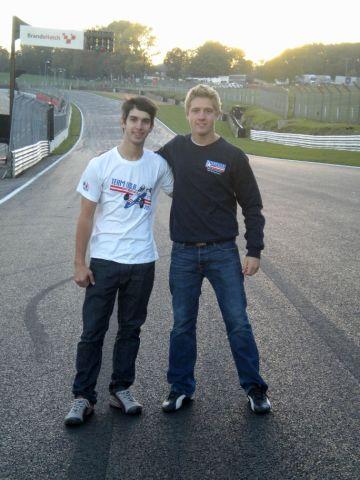 Pigot, Serralles Begin Testing for the Formula Ford Festival