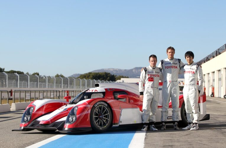Toyota releases first photos of new WEC challenger