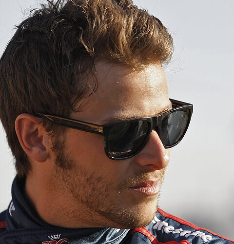 Marco Andretti tops soggy day at Long Beach