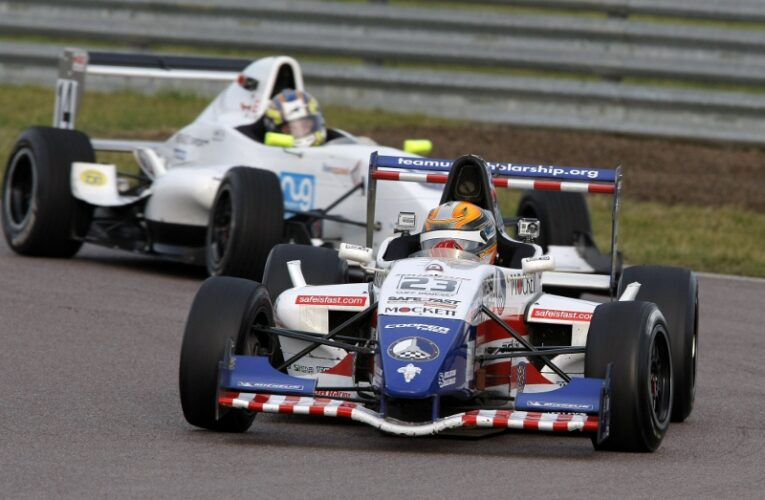Brabham Finishes Second, is Moral Victor in FR BARC Finale at Rockingham