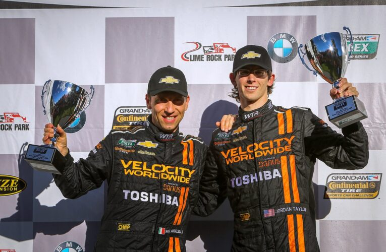 Angelelli and Taylor win Grand-Am finale to take title