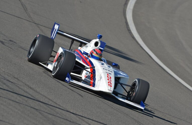 Hawksworth crashes No. 77, cleared to drive
