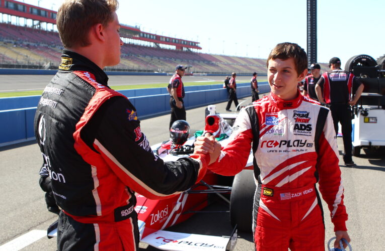 Veach returns with Andretti for 2014