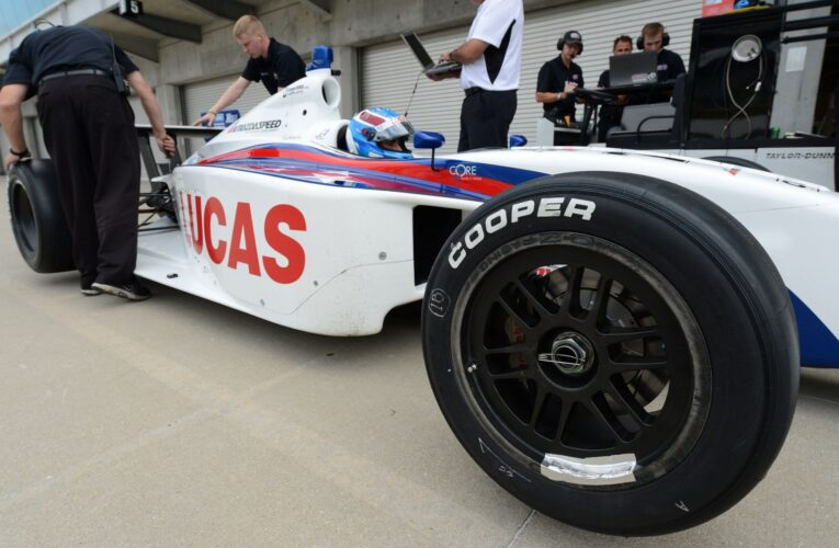 Cooper Tires Concludes Initial Indy Lights Tire Test