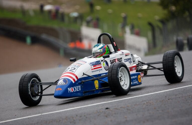 Team USA Drivers Play Starring Roles on Day One at Brands Hatch