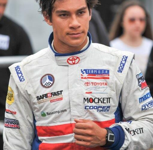 Alberico Claims Top-10 Finish In Hard-Fought Toyota Racing Series