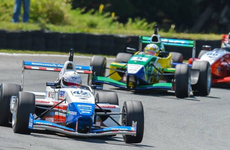 Alberico Claims Top-10 Finish in Chaotic First TRS Race at Teretonga