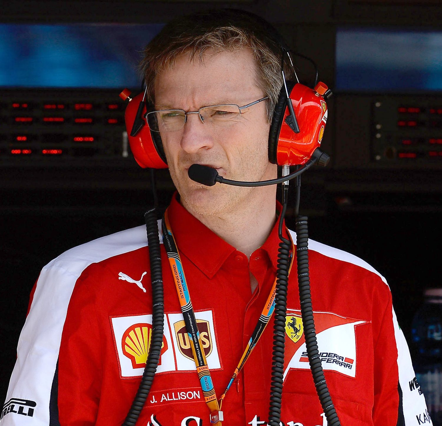 James Allison when at Ferrari