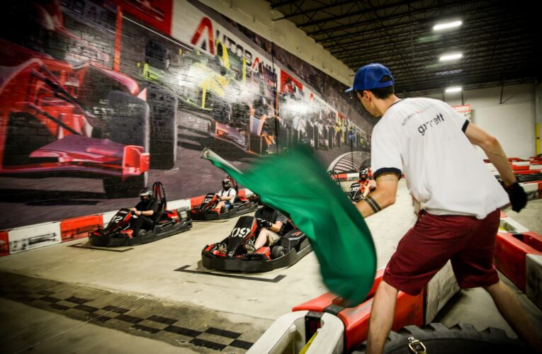 Stern wins first race of MD Varsity Karting Championship