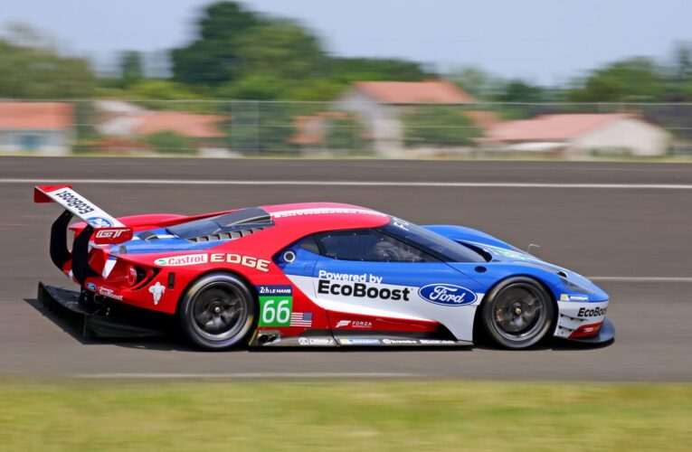 Who will drive the Ford GTs in IMSA?
