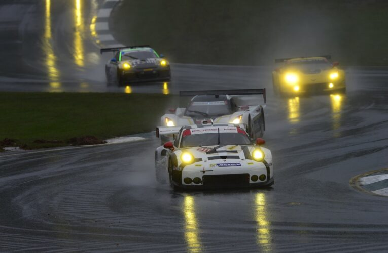 Porsche writes motorsport history with overall victory at Petit Le Mans