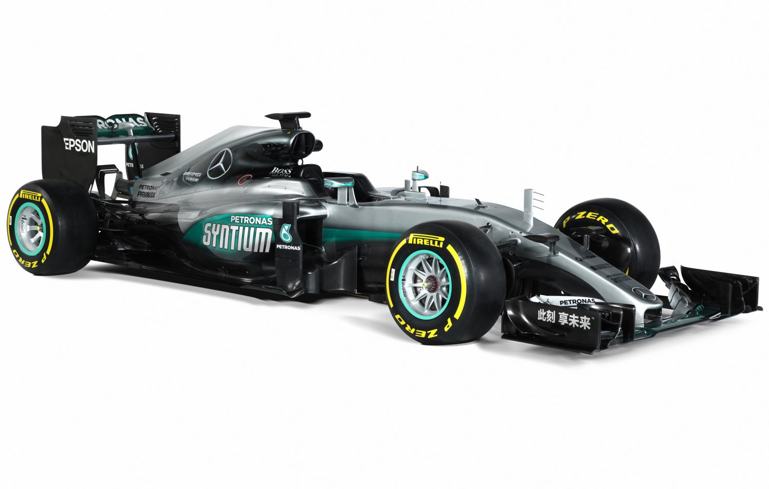 Mercedes livery for Chinese GP