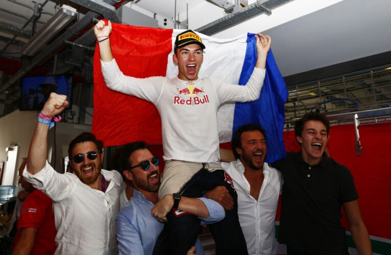 Thoughts of a Champion – Pierre Gasly