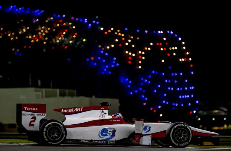 Alexander Albon ends on top on Day 2