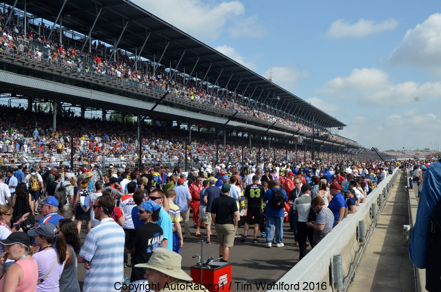 Another huge crowd expected for Indy 500
