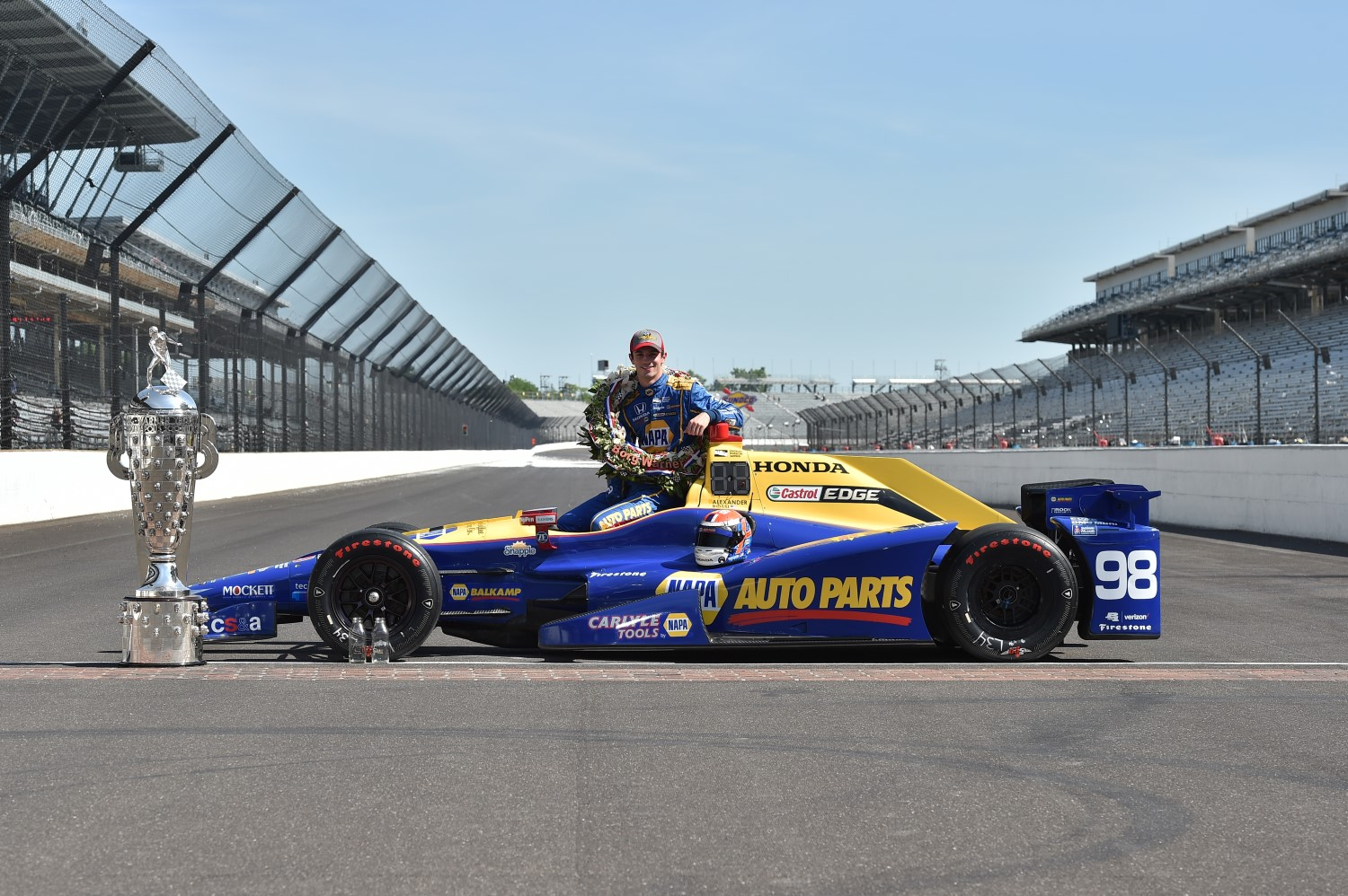 100th Indy 500 winner