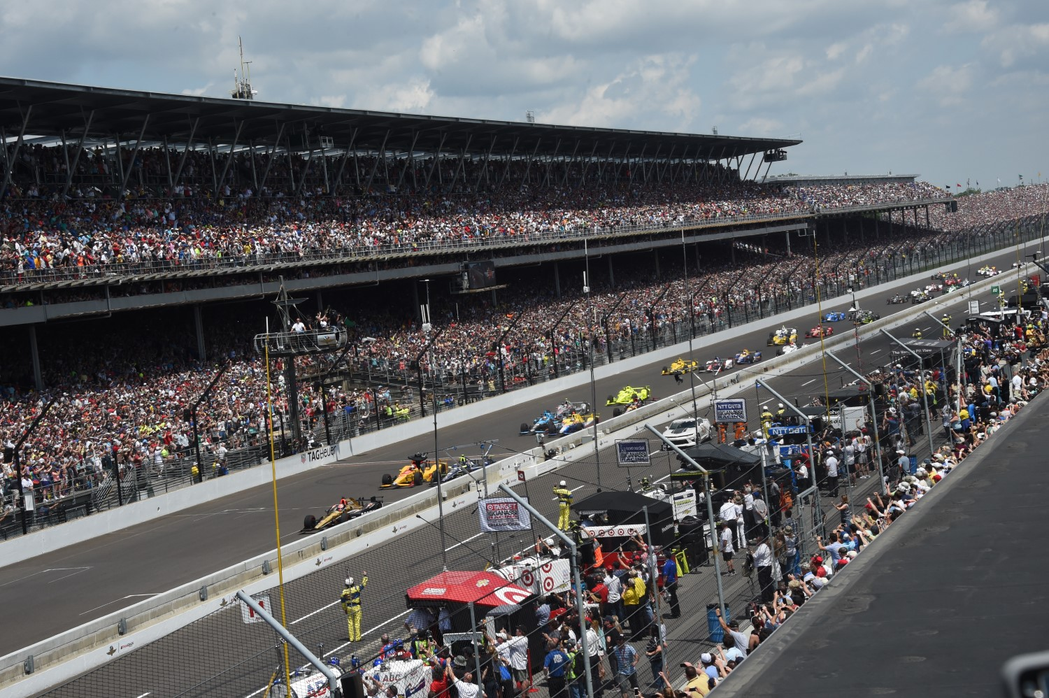 A record 350,000 attended last year's Indy 500
