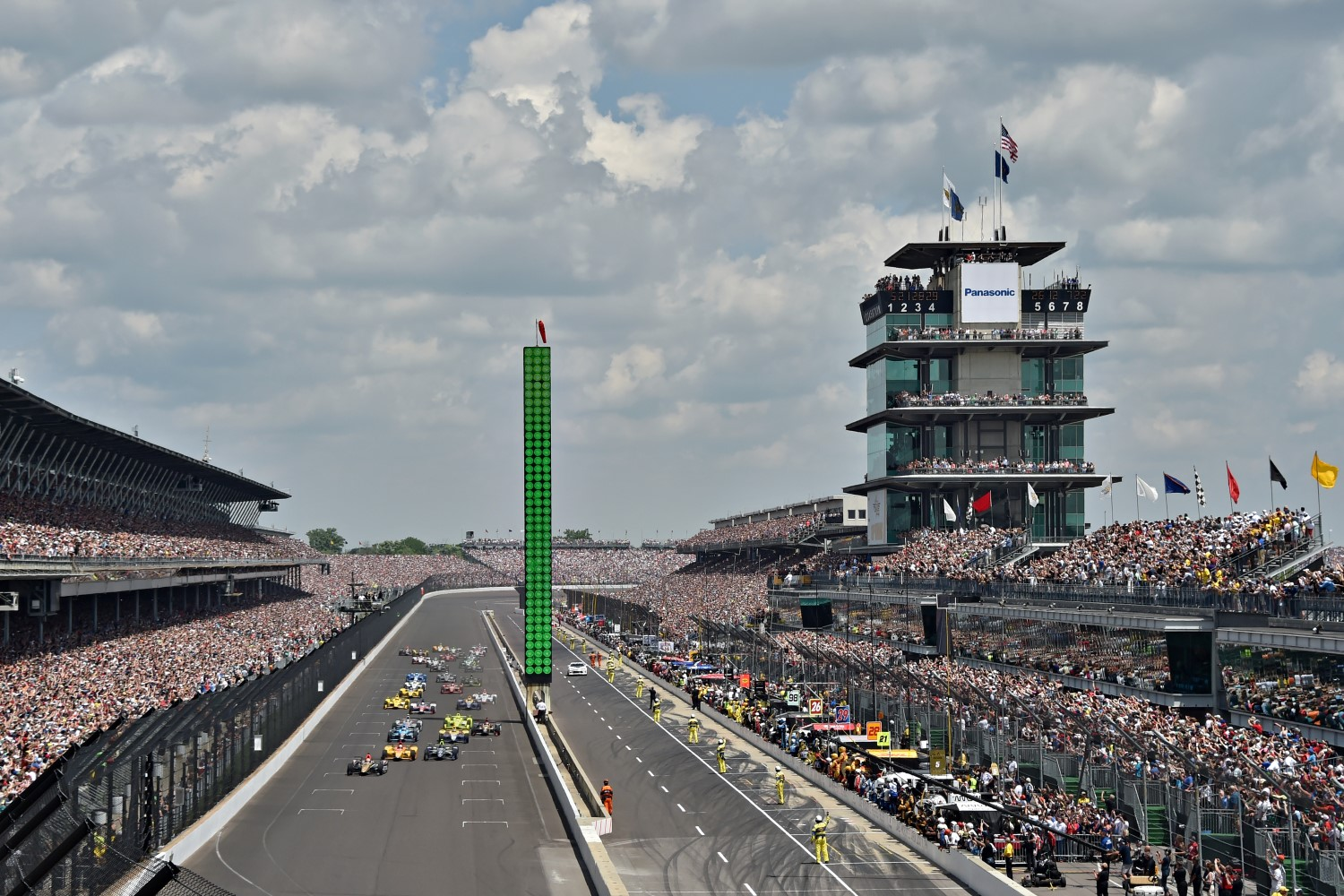 The Indianapolis Motor Speedway is #1