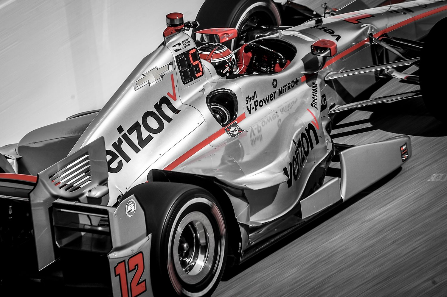Will Power fastest on Friday