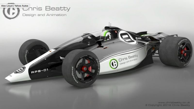 IndyCar racing would be far better is they were slowed down by removing wings and increasing the dependance on underbody downforce and mechanical grip per this concept car