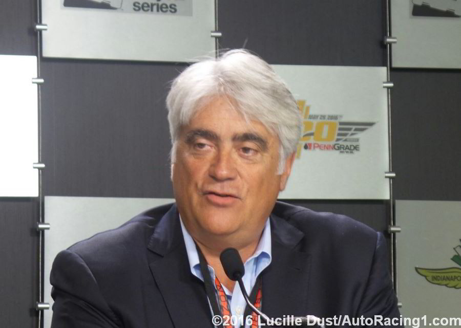 Mark Miles sees a bright future ahead for IndyCar