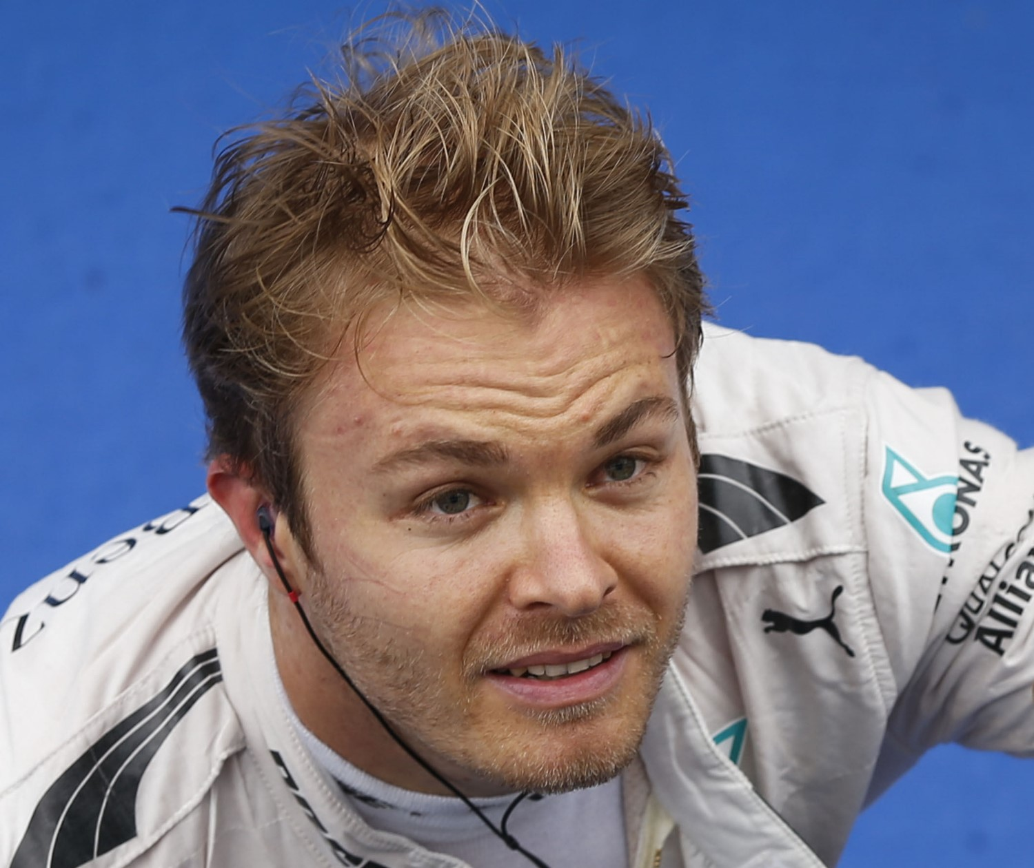 Rosberg happy to stay home and change diapers