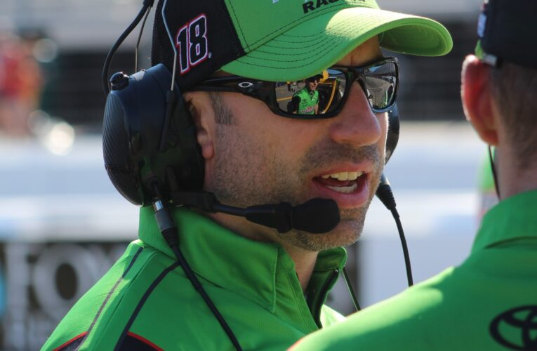 Joe Gibbs Racing announces crew chief assignments for 2021