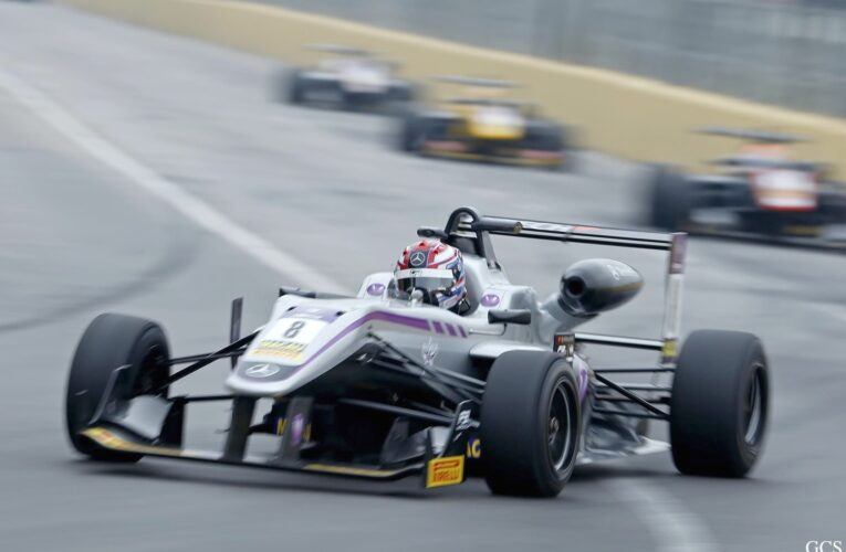 Russell takes pole for Quals race at Macau