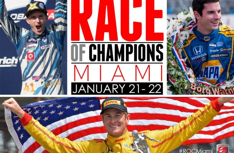 Three Andretti Drivers Named To Race Of Champions Team USA