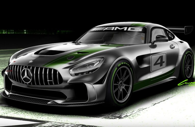 Mercedes-AMG is developing a new GT4 race car