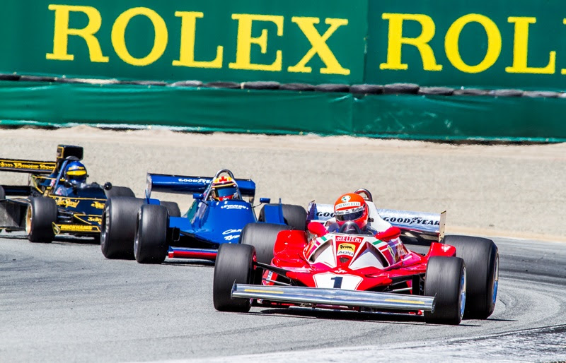 F1 Returns to Monterey