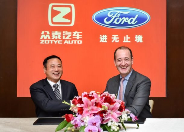 Ford Cancels EV Joint Venture With China's Zotye