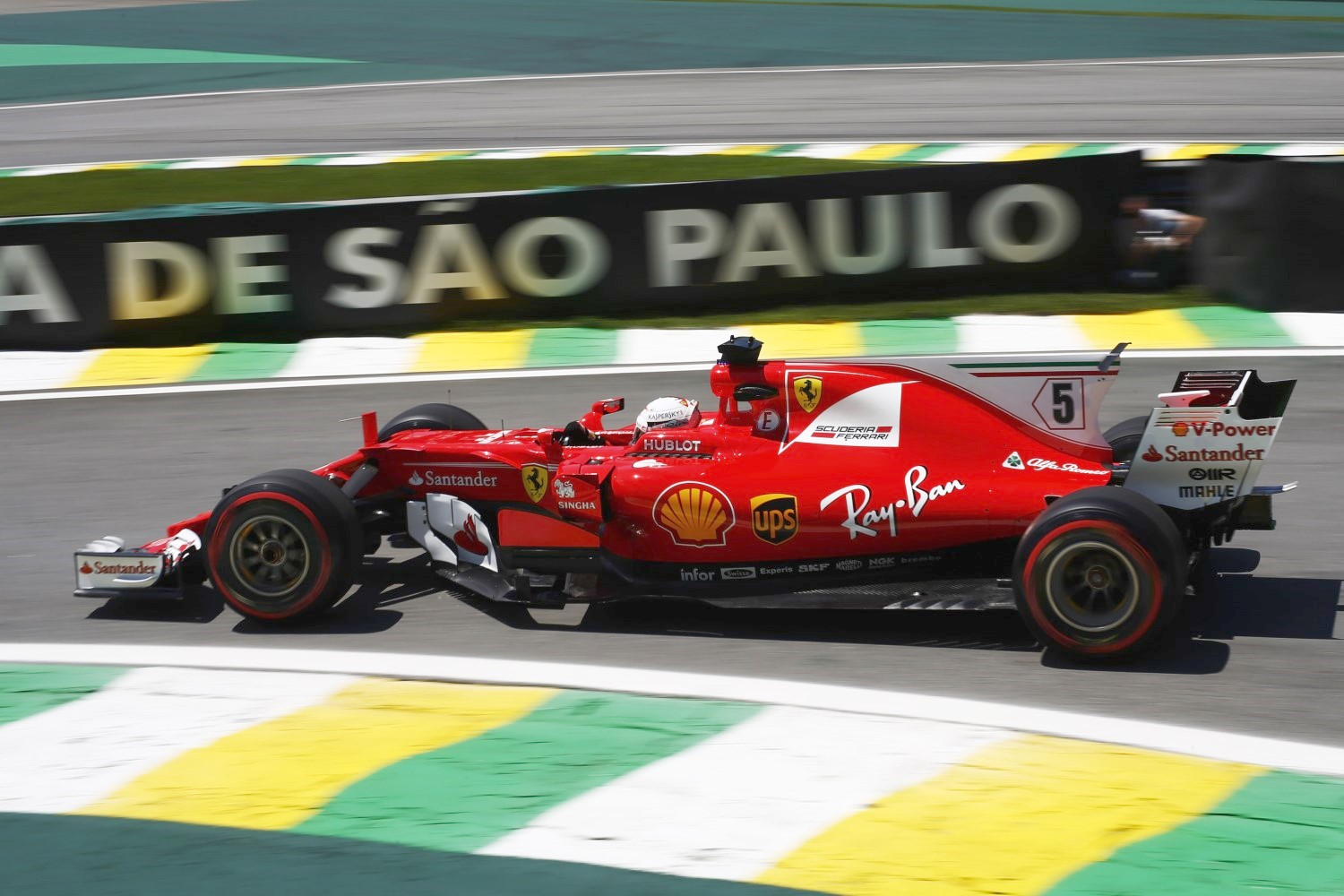 Ferrari can't beat Mercedes in F1 so maybe they should switch to another series