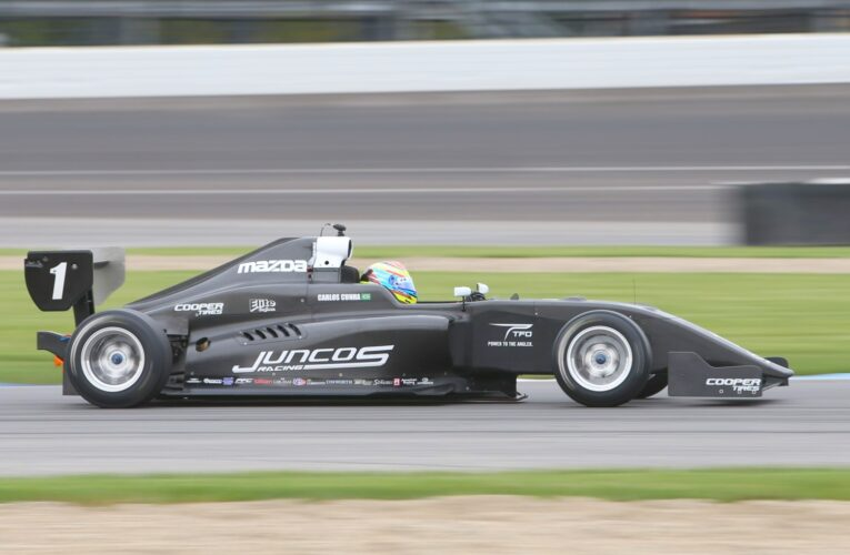 New Pro Mazda chassis makes sparkling debut at Indy test