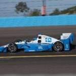 Pagenaud testing at Phoenix