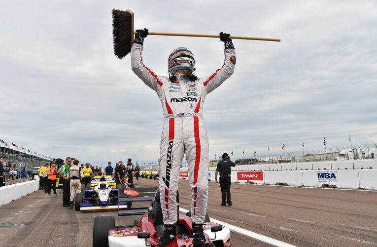 Martin Wins Again to Maintain his Unbeaten Record in Pro Mazda