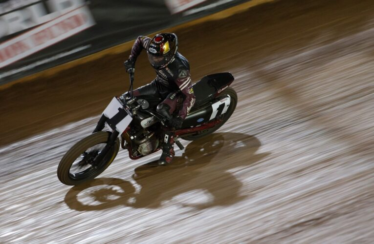 Smith Snaps Mees' Streak, Indian Motorcycle Wins Third Straight at Charlotte Half-Mile