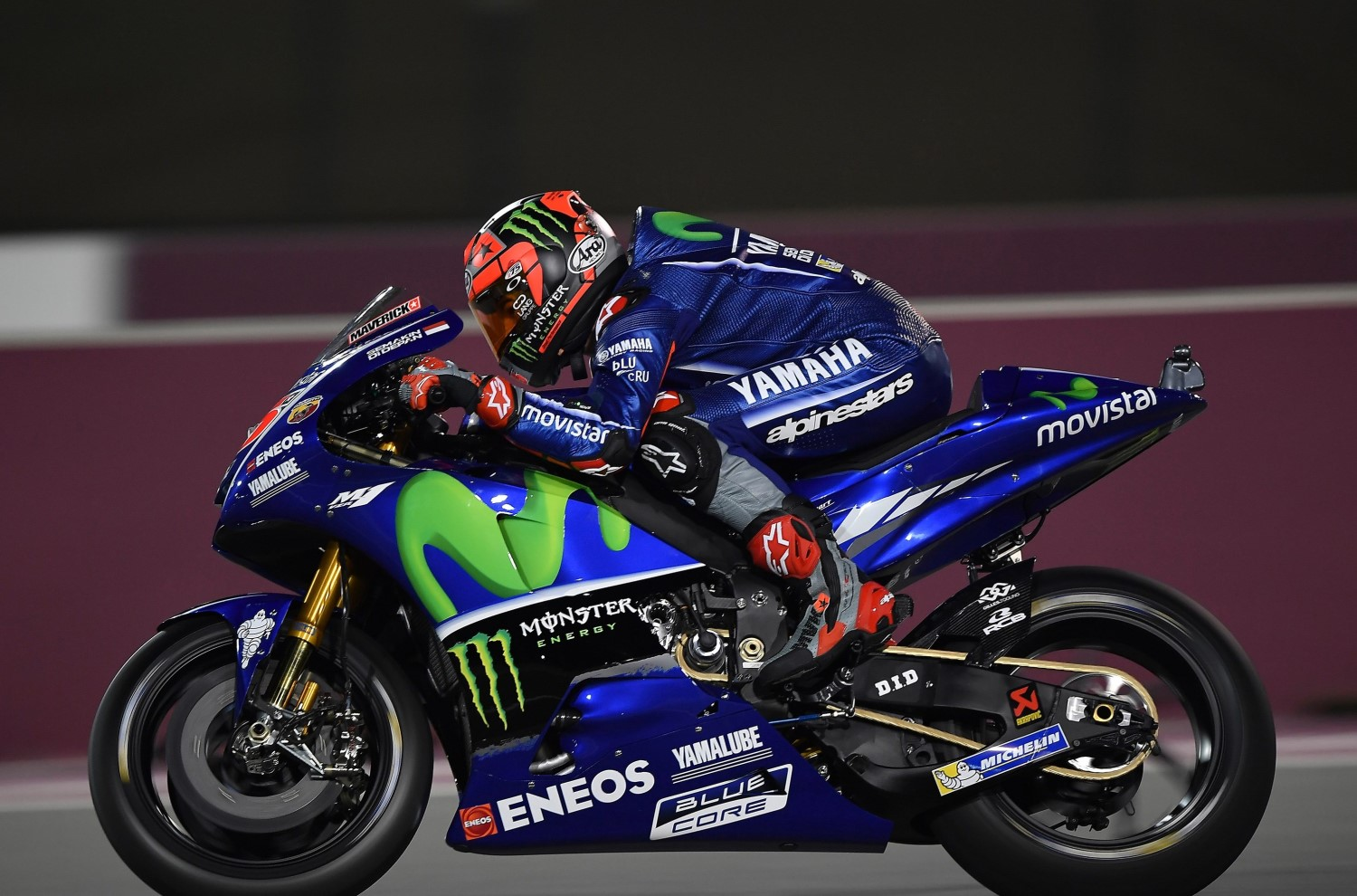 Maverick Vinales charges to debut win