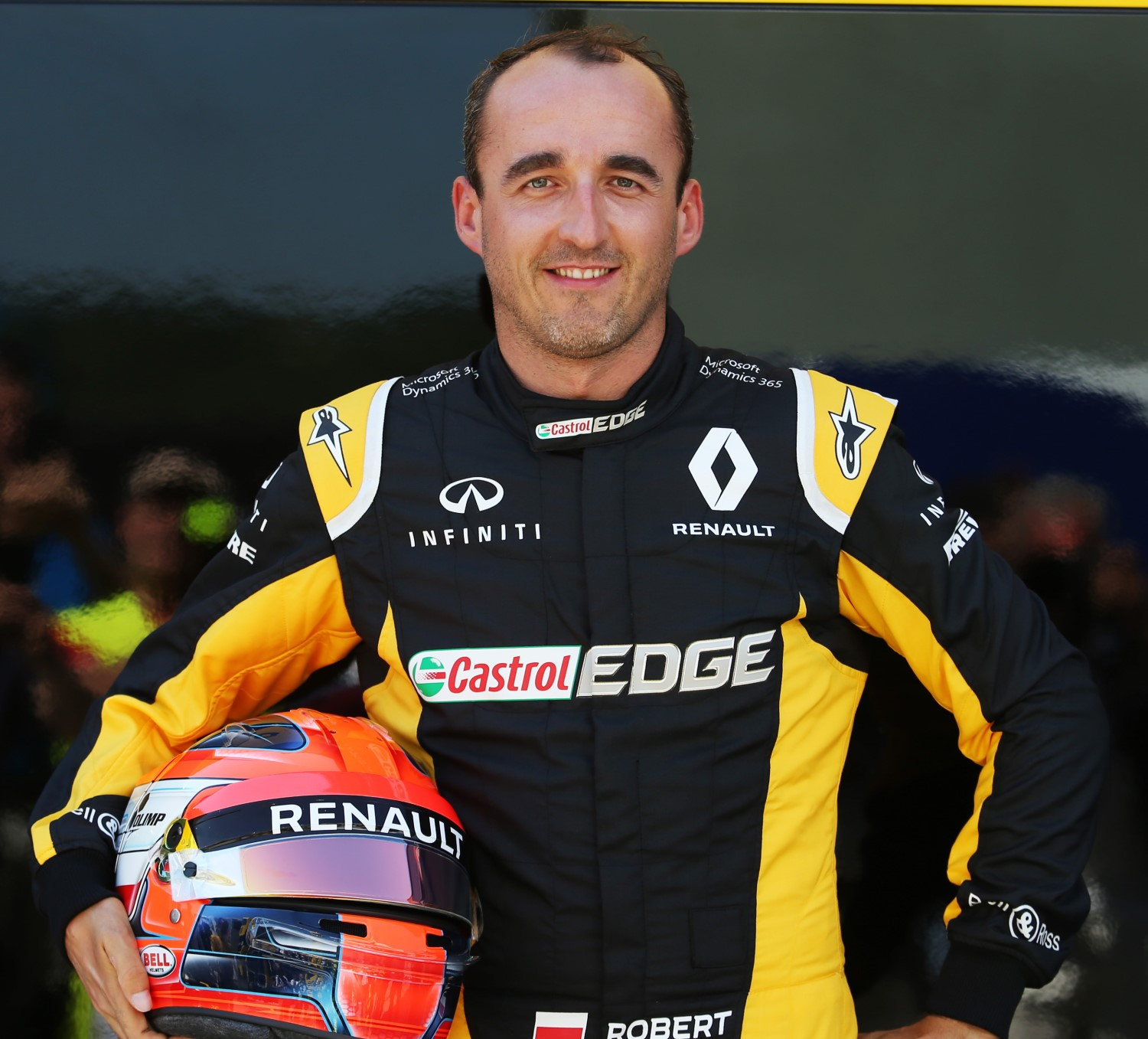 Kubica's check has not cleared yet - he needs to buy his test